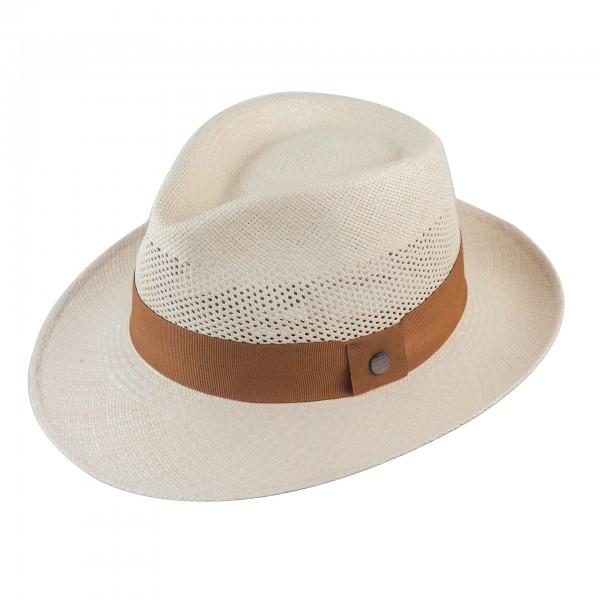 Sommer Panama Bogart Fedora von Vintimilla ventiliert