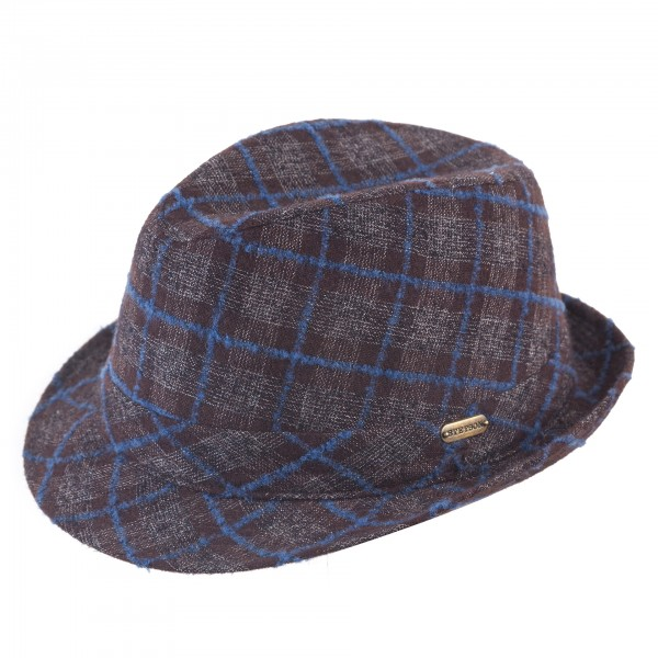Trilby Fedora 'New Hall' von Stetson Wolle