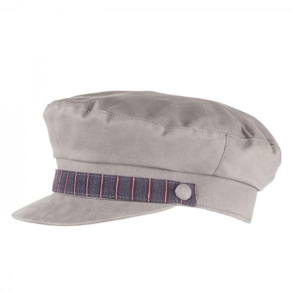FeineHueteBerlin Kapitaensmuetze Sailor Grau Segler Damen Herren online kaufen Baumwolle