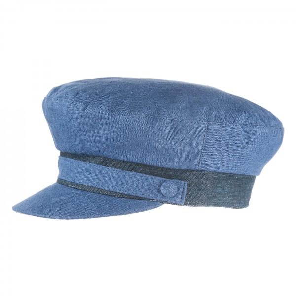 FeineHueteBerlin Kapitaensmuetze Sailor Blau Segler Damen Herren online kaufen Leinen