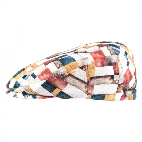 Sommer Flatcap von Stetson Baumwolle Bunt