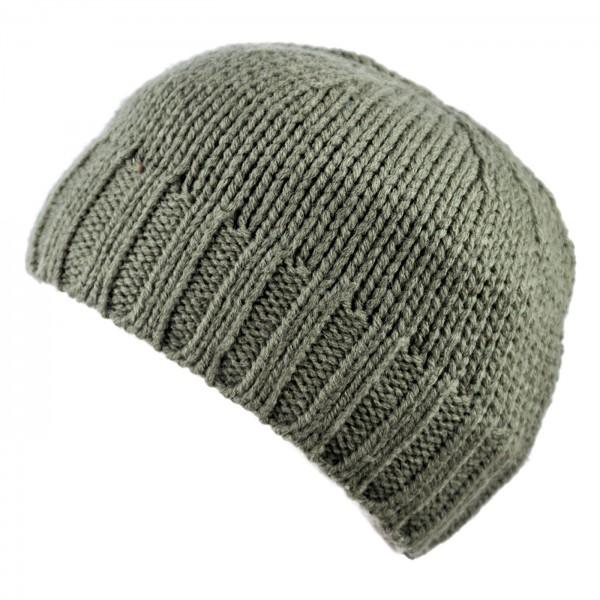 Wollmütze Schurwolle von Gebeana Fleecefutter