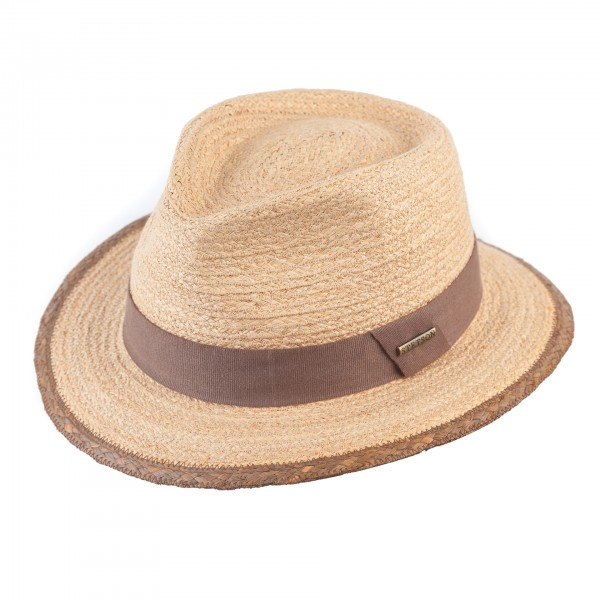 Sommer Strohhut Traveller 'Merriam' von Stetson